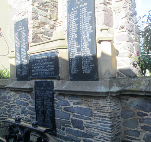 Ashby de La Zouch, War Memorial Rolls of Honour
