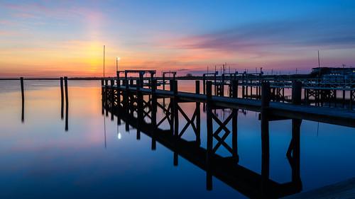 brigantine newjersey jerseyshore dock pier longexposure sunrise