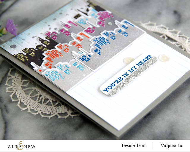 Altenew-MD Pretty City -Featured Sentiments Die Set-003