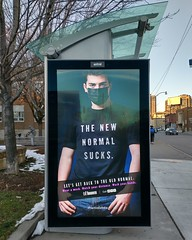 Bus stop ad, Keele and Annette (2) #toronto #ttc #busshelter #ad #covid19toronto #covid19 #practicesafe6ix #publichealth