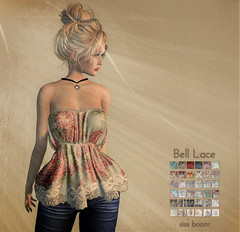 -siss boom-bell lace ad
