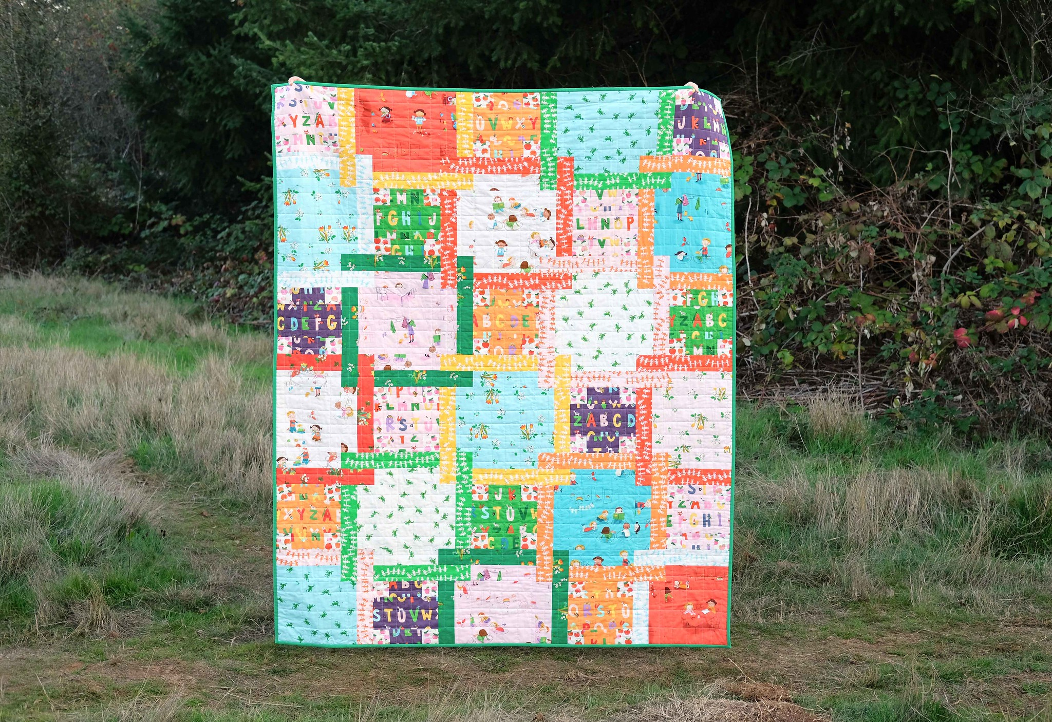 The Judy Quilt in Kinder - Kitchen Table Quilting