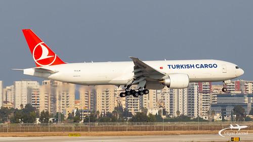 TLV - Turkish Airlines Cargo Boeing 777-200F TC-LJR