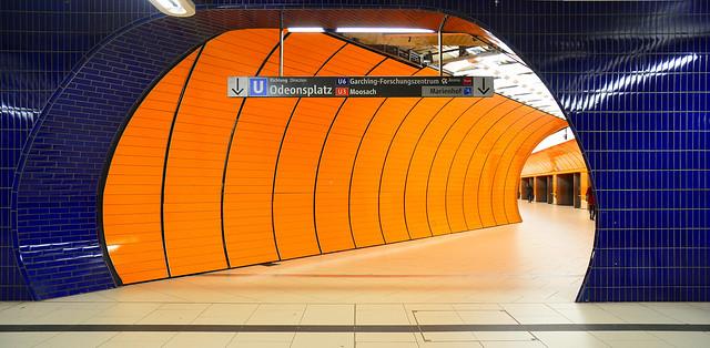 Munich - Orange in Blue