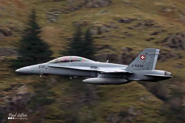 J-5232 Swiss Air Force McDonnell Douglas F/A-18D (serial no 1308/SFD002)