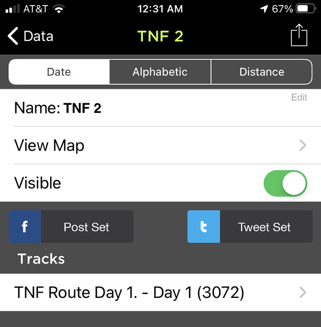 GPS KIT APP Step: 11 View Map / Visible Options