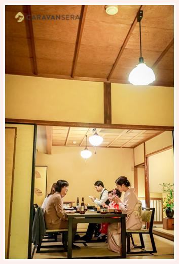 七五三参り後の食事会 大和屋(名古屋市東区の料亭・懐石料理店)