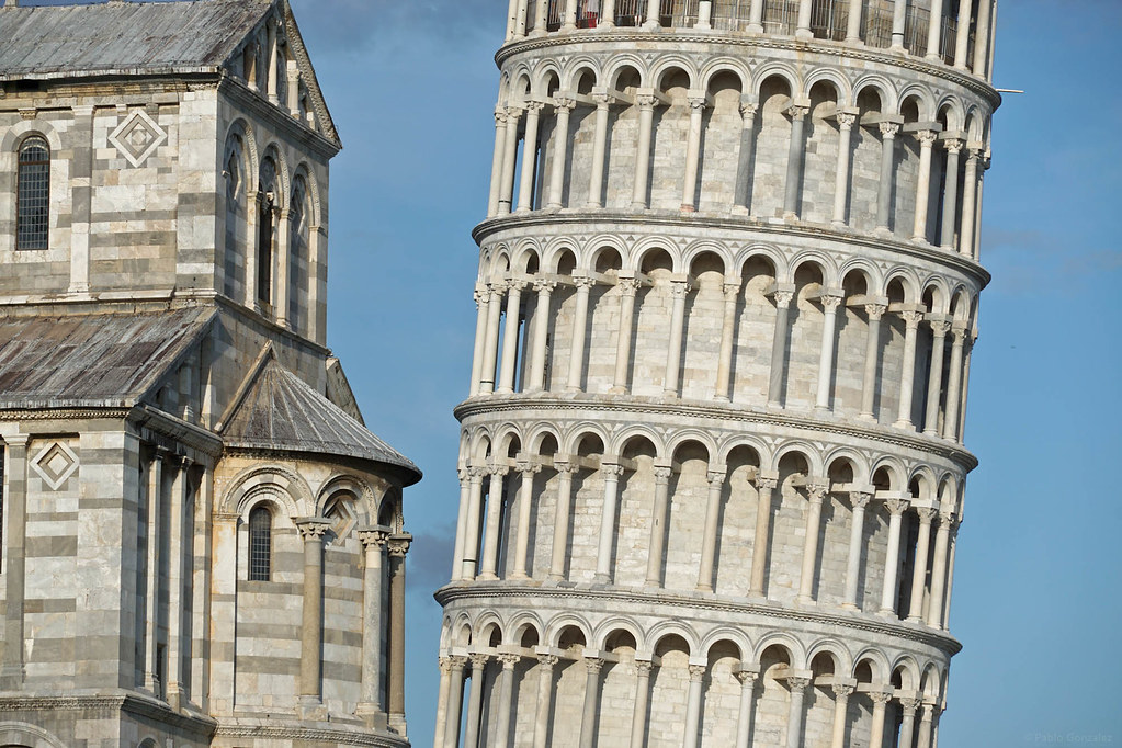 La Torre de Pisa, Italia.
