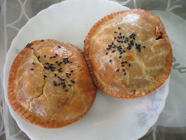 Secret Recipe black pepper lamb pie