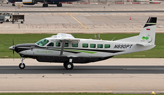 N890PT LMML 02-12-2020 Private Cessna 208B Grand Caravan CN 208B5579