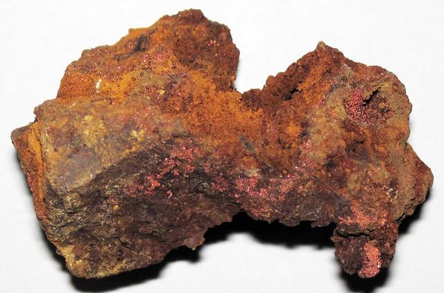 Gossan (Flambeau Mine, Rusk County, Wisconsin, USA) 6