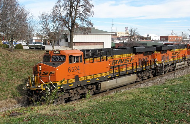 BNSF 6524, Rolla (Mo.), 2 December 2020