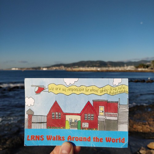 Lindsay Road National School walks around the world