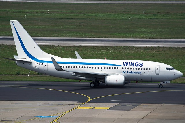 B737 T7-WLA Wings of Lebanon