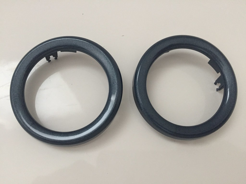 Smart ForFour 454 trim rings for the pods - 1 pair