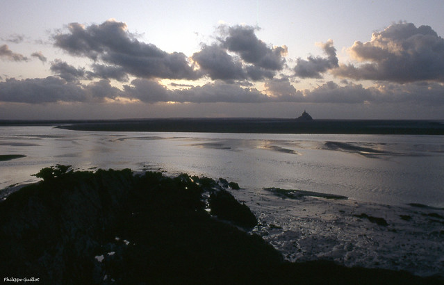 Le Mont-Saint-Michel vu du Grouin du Sud