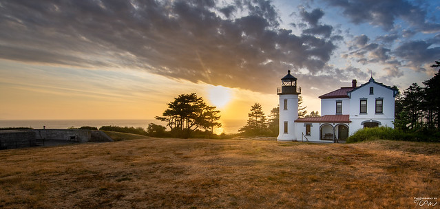 Admiralty Head Lighthouse Sunset