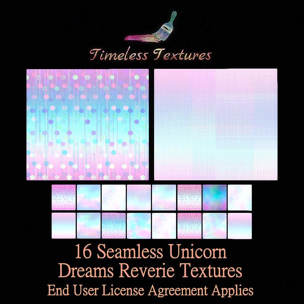 TT 16 Seamless Unicorn Dreams Reverie Timeless Textures