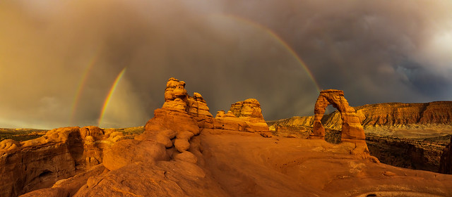 Delicate Arch, Arches NP, Utah (