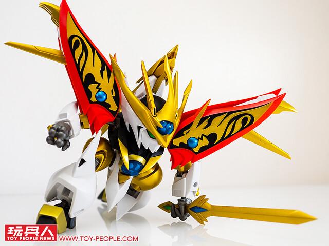 NXEDGE STYLE《魔神英雄傳》龍虎丸&煌龍丸 開箱報告  一騎當千的金色魔神發售!