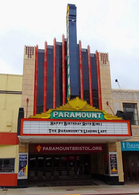 TN, Bristol-Paramount Theater