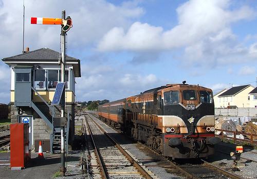 ireland claremorris manulla junction 071 emd electro motive division jd22cw railway railroad zug vlak bahn train treno irish rail