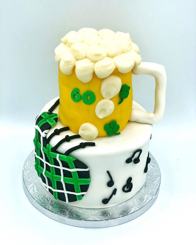Bagpipes and Beer from Baked Goods by Jenn
