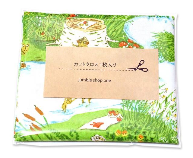 カットクロス Windham Fabrics Heather Ross 20th Anniversary 37022A-1 Frog Pond