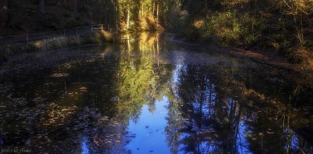 Fairytale lake in November..