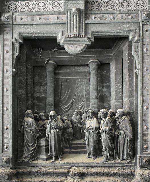 Cementerio de Génova, Italia.