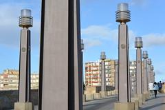 lamps on the bridge