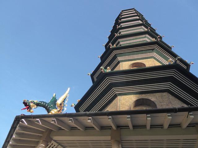 Great Pagoda, Kew Gardens, London