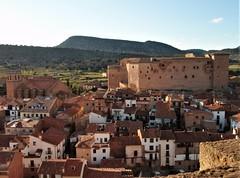 Mora de Rubielos - Colegiata y castillo.