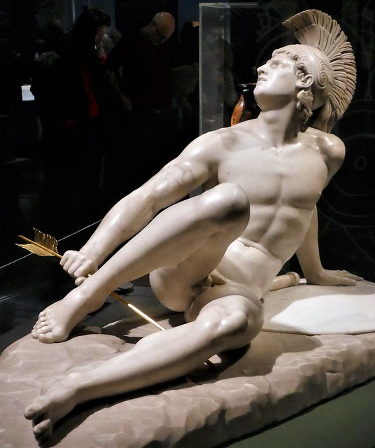 Filippo Albacini, 1825, The Wounded Achilles, marble