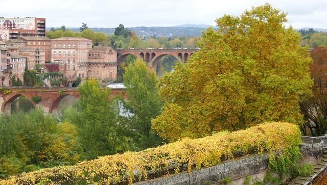 Les ponts et les moulins du Tarn, Albi, Tarn, Occitanie.