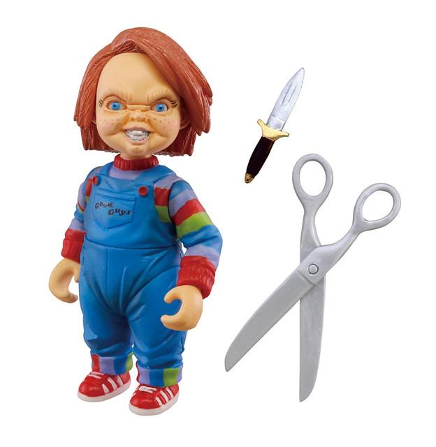 恐怖人偶一家齊報到!T-ARTS《鬼娃新娘之鬼娃也有種》恰吉大尺寸立體人形2
