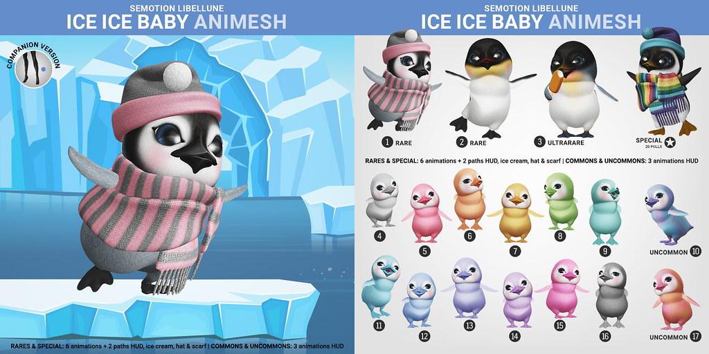 SEmotion Libellune Ice Ice Baby Animesh