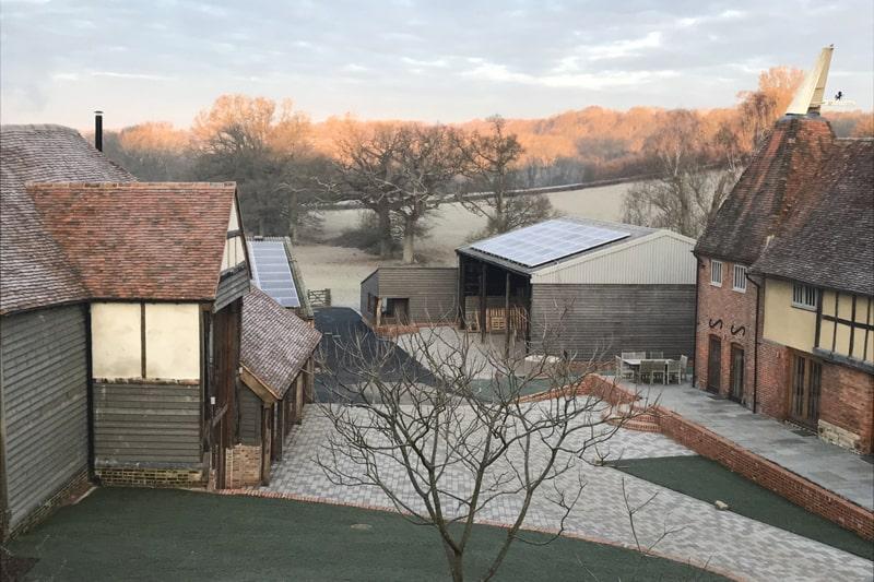 The Oak Barn, Frame Farm - Film & Media