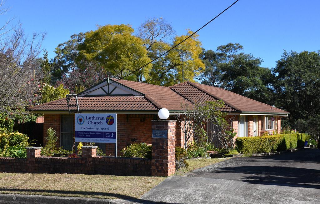 Lutheran Church, Springwood, NSW.