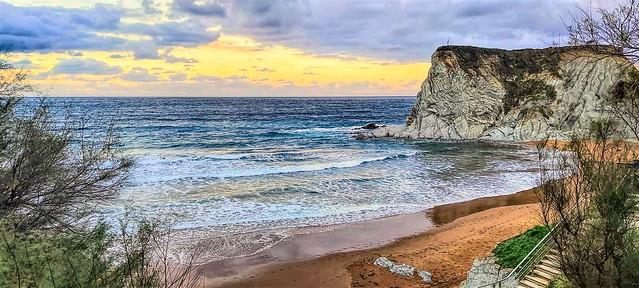 Bajada a la playa de Sopelana.
