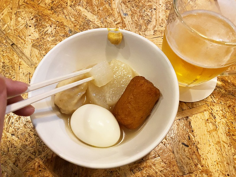 Oden & Bar YAMA_おでんとビール2