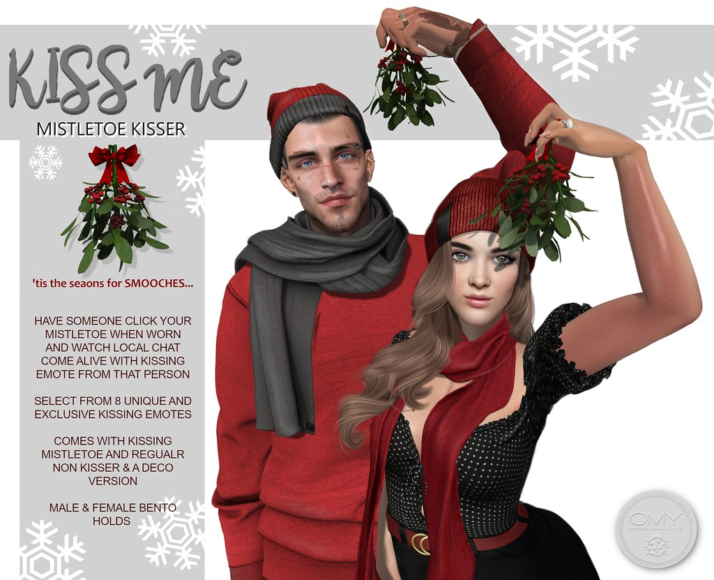 'KISS ME' Mistletoe Kisser