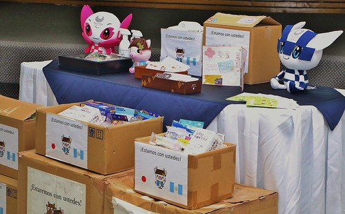Entrega de donación de mascarillas y desinfectante a Comités Olímpico y Paralímpico de Guatemala