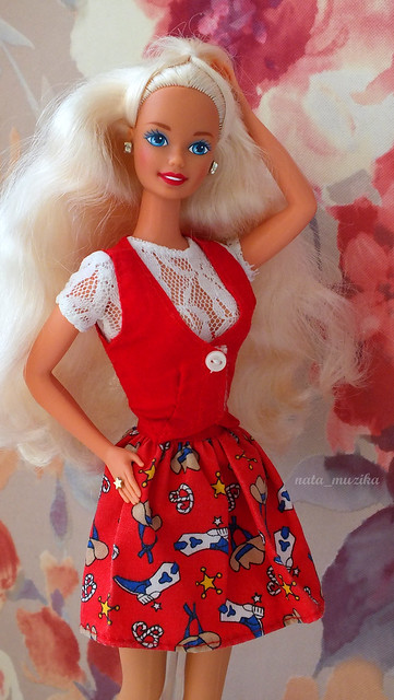 1995 Ruby Romance Barbie