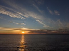 Ocean Sunset at Point Vicente