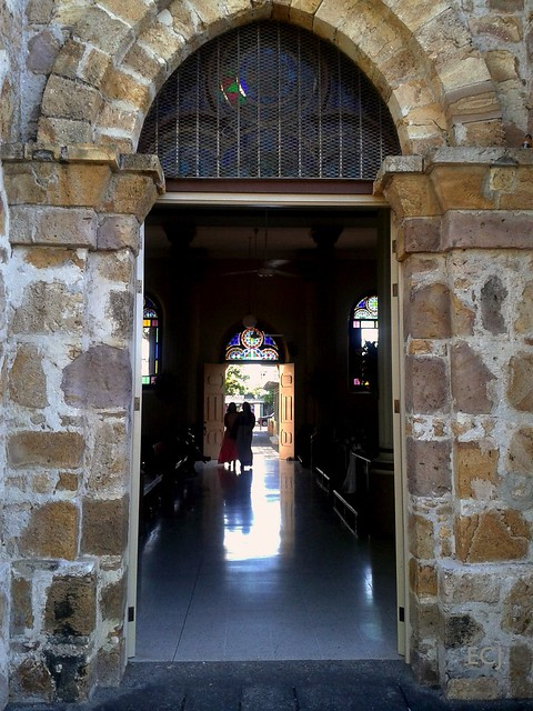 A través del umbral de la catedral/ Through the Cathedral's threshold