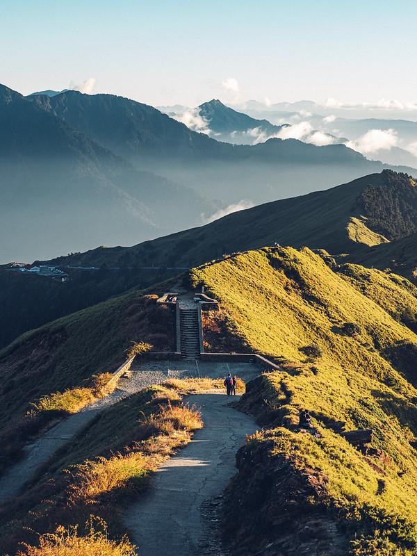 合歡山主峰視角 TAIWAN