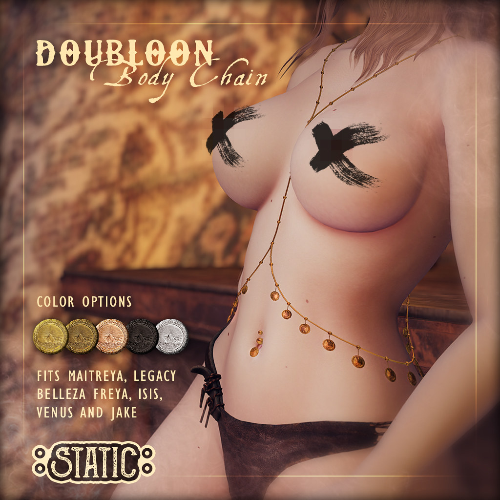 Doubloon Body Chain