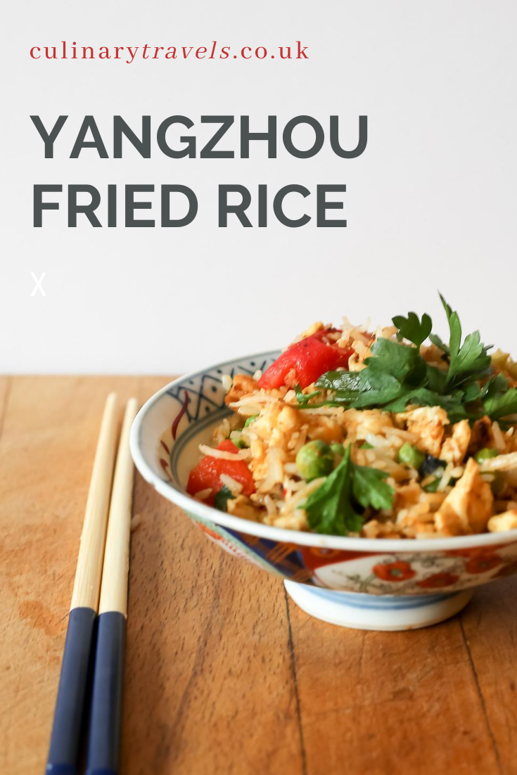 This Yangzhou Fried Rice recipe AKA Yeung Chow Fried Rice is a takeout menu staple. This homemade version is fragrant and delicious!