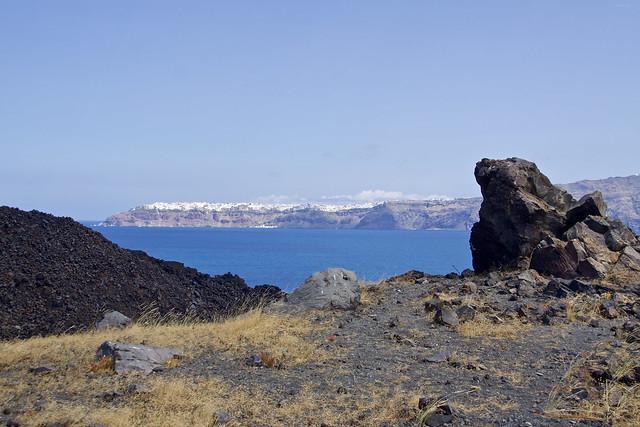 Excursion sur le volcan.